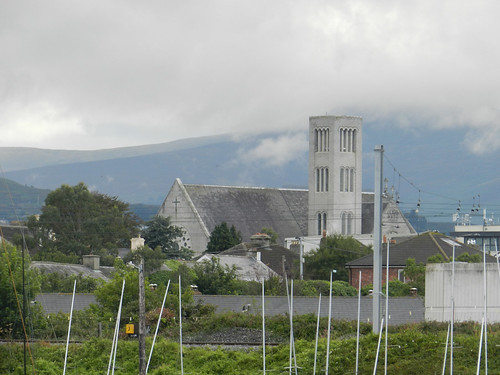 Holy Redeemer Church, pictured from Bray harbour