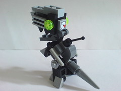 Robosaur (rear view) (Kingmarshy) Tags: pet lego universe moc robosaur