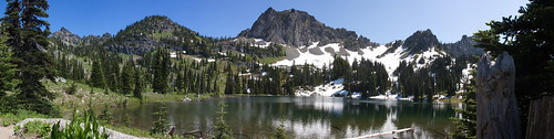 Upper Crystal Lake by The Bacher Family