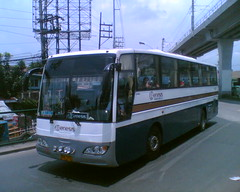 Genesis Transport Service Inc. (Bus Ticket Collector XIII; White Christmas ) Tags: bus pub philippines santarosa sr balintawak mandiesel gtsi genesistransportserviceinc pbpa philippinebusphotographersassociation