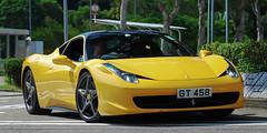 Ferrari F458 Italia (Rupert Procter) Tags: auto hk car nikon ride awesome mobil kong coche motor nikkor   kereta  car car hong rwp kong rupertprocter d80 spotting exotics chasing    juanchai juanchaihk