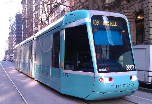 All-over tram advertising