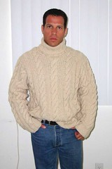 Mens havy cabled turtleneck wool sweater (Mytwist) Tags: male men wool fashion fetish sweater style pride jeans cables mens jumper turtleneck aran pullover qx cabled cabledsweater