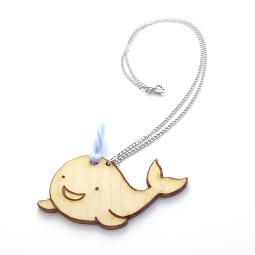 Wonderful Whale Charm Necklace 1
