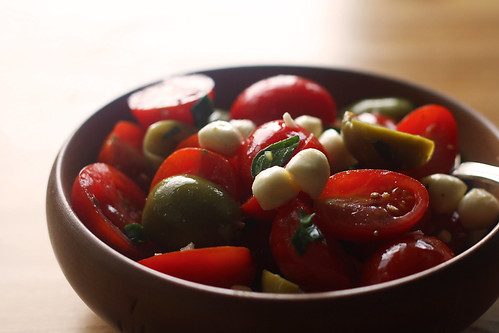 Tomato Oregano and Olive Salad EDITED