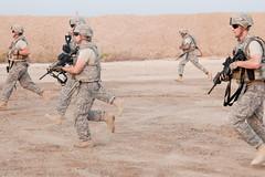 110715-A-CH809-039 (3rd Brigade Combat Team, 1st Cavalry Division) Tags: fun exercise run pt bodyarmor physicaltraining iotv