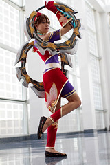 Anime Expo (Anna Fischer) Tags: game costume video cosplay soul videogame cosplayer ax animeexpo tira calibur