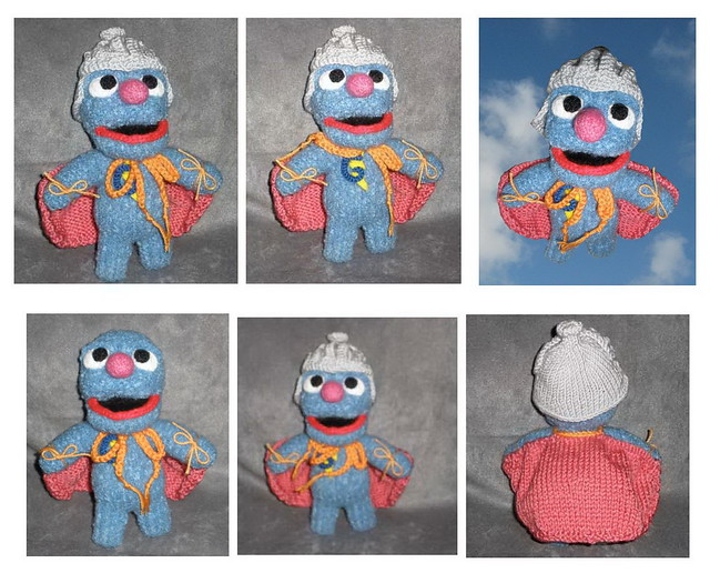 Super Grover collage