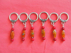 My first stitch markers