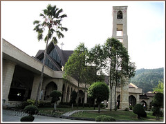 St. Anne's Church, Bukit Mertajam: right-side front view