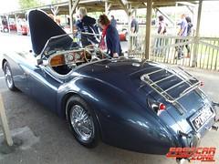 Nostalgia Cars Jaguar XK120 Replica (Fast Car Zone) Tags: classic ford chevrolet vintage 1966 rare supercar goodwood daimler fastcar ferrari365