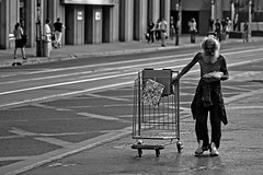 Cart (Dan Cronin^) Tags: poverty urban toronto dan photography photographer candid homeless streetphotography cart queenwest cronin dancronin