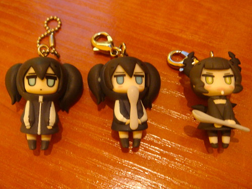Black Rock Shooter Curry Charm Set.