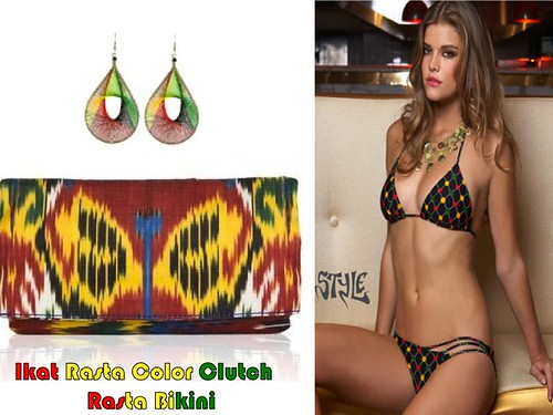 Ikat Fashion Trend_Ikat clutch by Sweetlynat