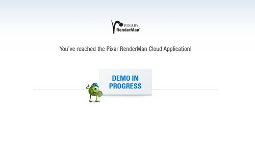 Pixar Renderman on Cloud?