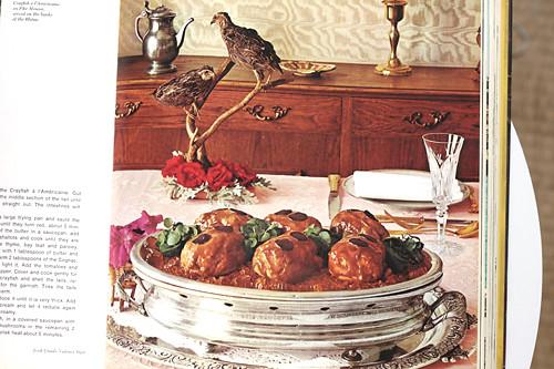 partridge garnish