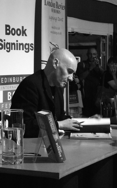 Edinburgh International Book Festival - Grant Morrison 013