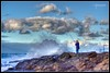 The BIG Catch HDR (Tomojo Photography) Tags: ocean sea beach clouds waves sydney australia