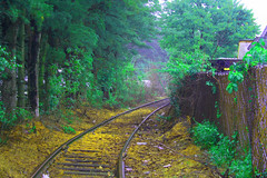 Off to see the Wizard?... (Railroad of the Dead) Tags: railroad lost cemetary ipswichma woburnma deadrailroad