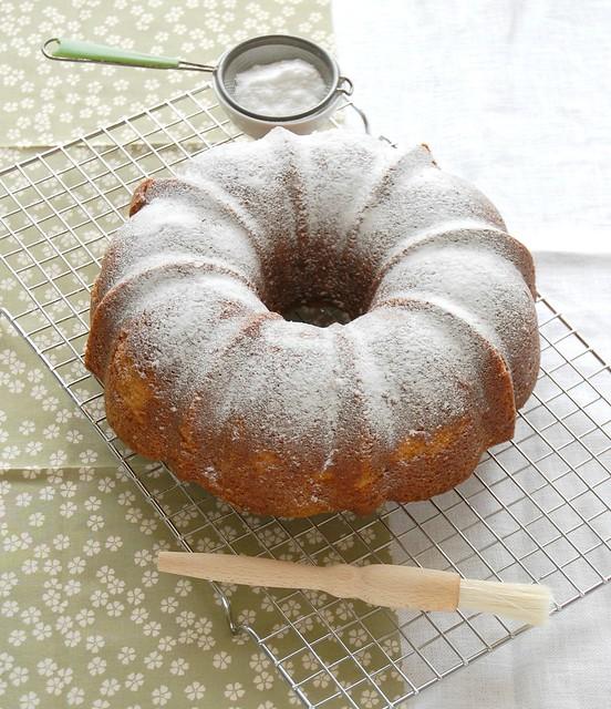 Lemon ginger cake / Bolo de limão siciliano e gengibre