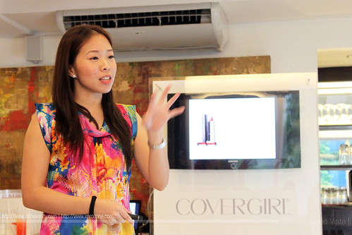 Jinkie Simbulan - Covergirl Lip Perfection Bullet Lipstick Event