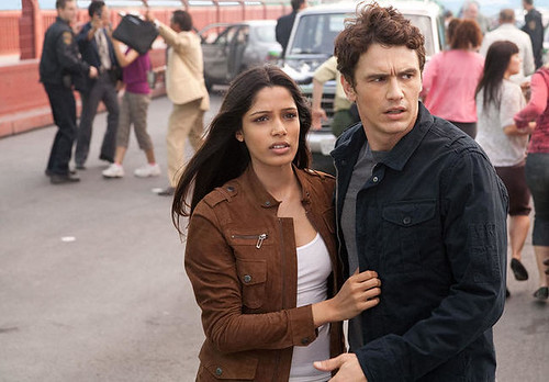 James Franco & Freida Pinto in Rise Of The Planet Of The Apes