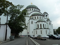 Belgrade - Serbia (Sanne Aabjerg) Tags: church cathedral serbia belgrade orthodox saintsava vraar