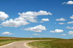 Wyoming Rolling Hills (Virginia Bailey Photography) Tags: usa clouds america canon farm roadtrip farmland wyoming wy canon50d