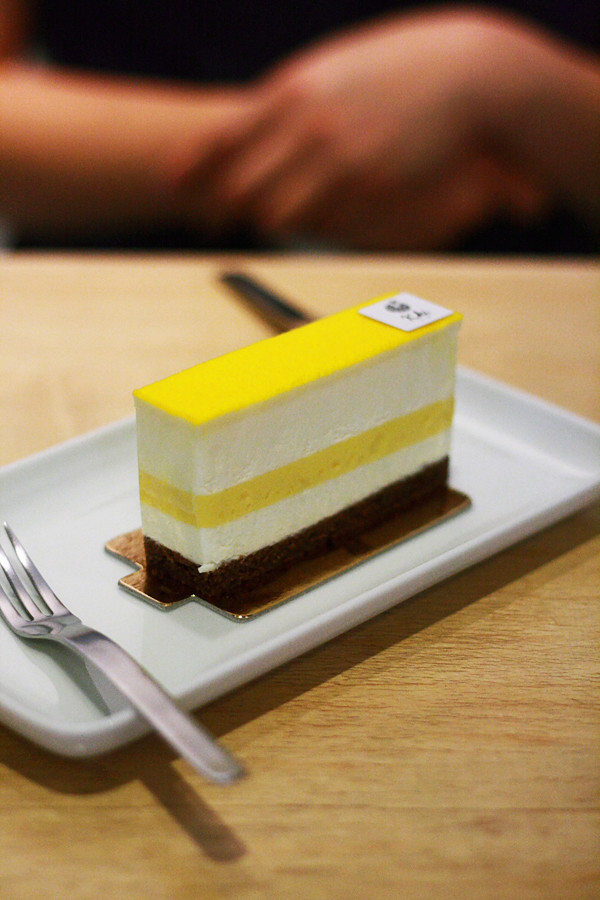 Chinatown Passionfruit White Chocolate Mousse Entremet