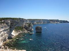Bonifacio Coastline (DavidWilliams90) Tags: corse corsica limestonecliffs bonifaciocoast