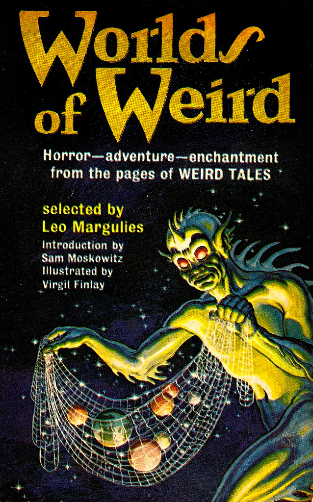 Virgil Finlay - Worlds of Weird, Cover