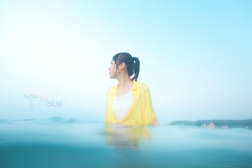 [甄妮]藍色海洋