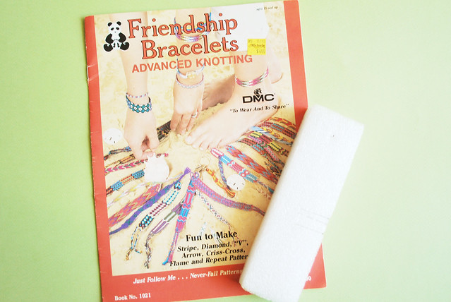 vintage craft : bracelet instructions