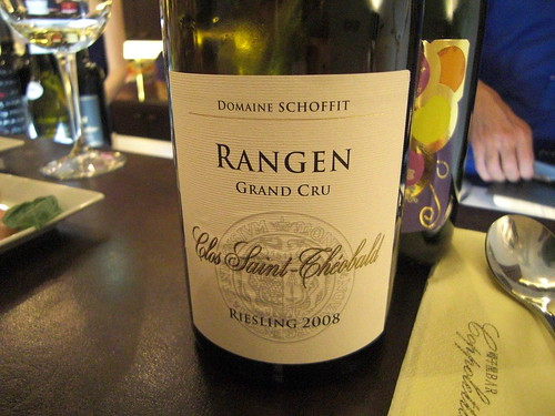 """Riesling Grand Cru Clos Saint-Theobald 2008"" Domaine Schoffit"