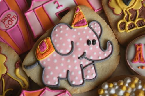 Circus Elephant Cookies.
