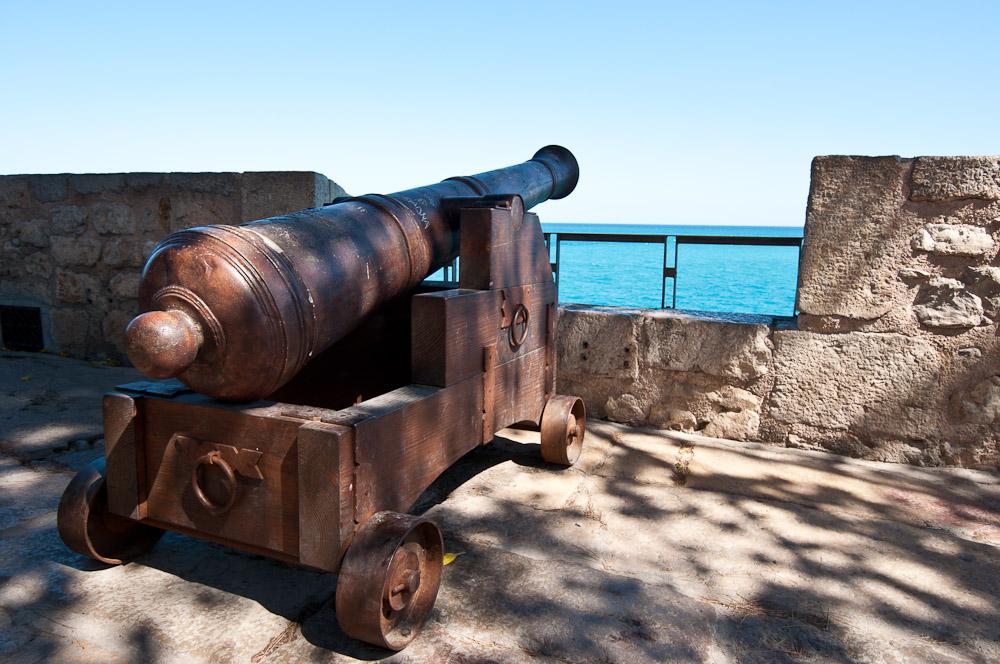 Murallas con vistas al Mar del Ocaso