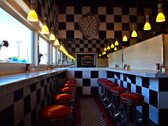 Inside Alfred's Cafe (Vorona Photography) Tags: house gambling west building classic architecture breakfast dinner corner lunch photography coast washington cafe cool interesting artwork cross pacific northwest image artistic brother 1800s picture diner historic retro nostalgia prostitution photograph sound processing nostalgic tacoma former whore prostitutes puget alfreds