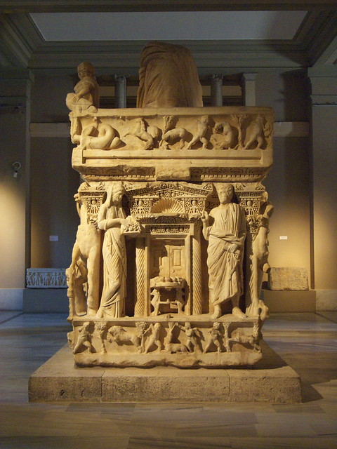豪華的石棺
