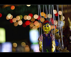 things you will find on the streets of cambodia..(explored) (PNike (Prashanth Naik)) Tags: street shopping toy lights interestingness interesting nikon asia cambodia puppet market bokeh nightmarket hanging siemreap threads 50mmf18 explored streetshopping bokehlicious d7000 pnike