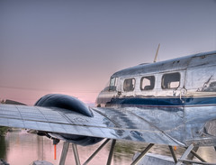 After the goldrush (Nigel Fearon) Tags: sunset summer water northwestterritories hdr yellowknife floatplane nigelfearonphotography
