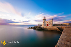 Howth Harbour, Co. Dublin, Ireland. (broad.sword) Tags: longexposure ireland sunset sea howth dublin seascape pier nikon harbour sigma wideangle d200 1020mm goldenhour lightroom nd110 bigstopper 10stopper