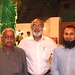 Altaf Shaikh with his Petarian classmate Abdul Razzak Narejo and his son Imran