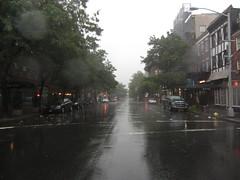 hudson street, 8 a.m.