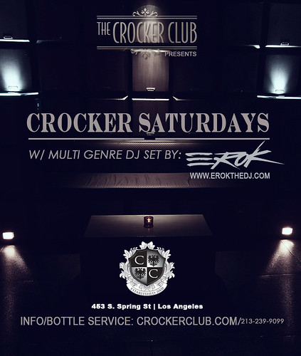 Crocke Club Every Saturdays w/ Dj Erok