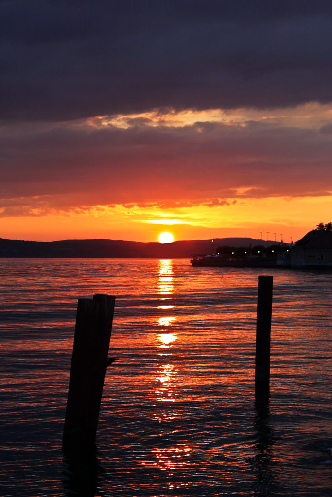 0242 - Germany, Meersburg, Sunset