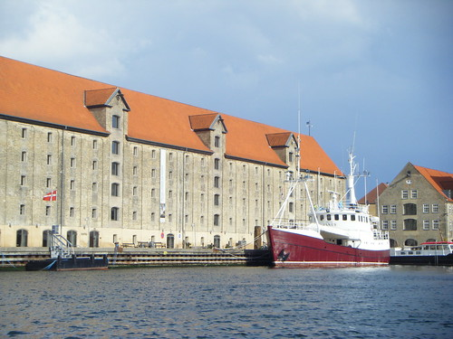 View of Noma and the Arctic Janus, from the water