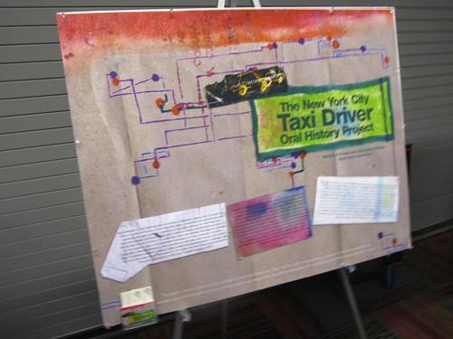 Taxi Driver Oral History poster at SAA