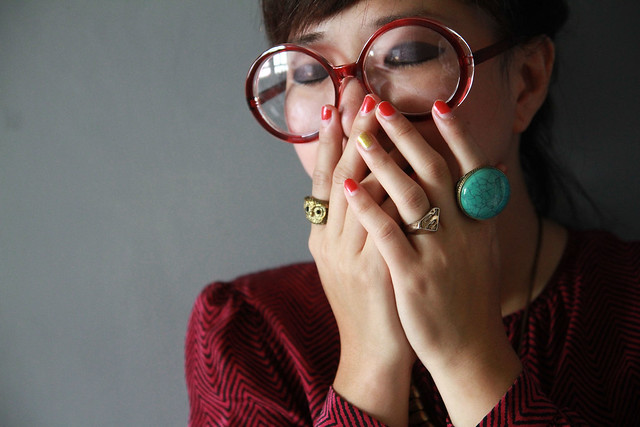 rings and glasses