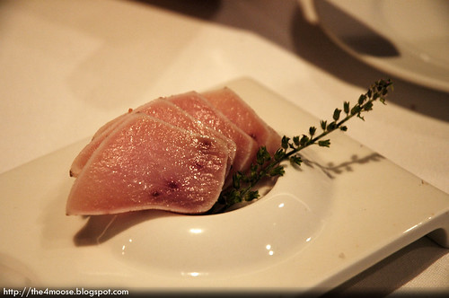 Stellar - Ocean Trout and Swordfish Tataki