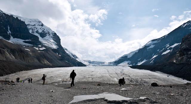 Glaciar Athabasca, Montañas Rocosas